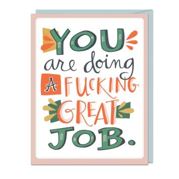 Em + Friends - EMM F*cking Great Job Card