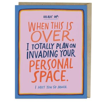Em + Friends - EMM Personal Space Card