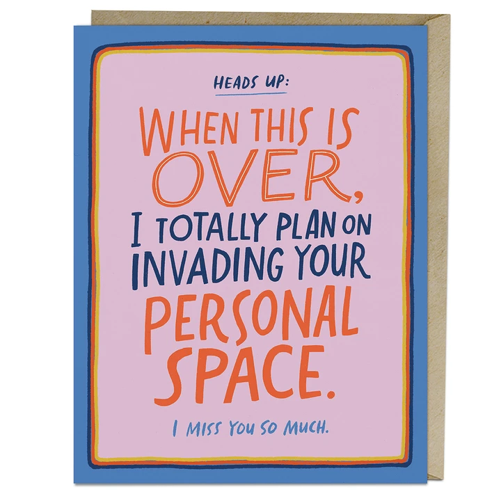 Emily McDowell - EMM Personal Space Card
