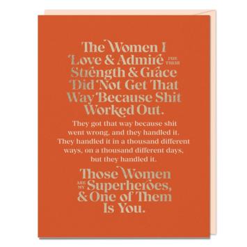 Em + Friends - EMM Women I Love and Admire Card