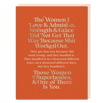 Emily McDowell - EMM Women I Love and Admire Card
