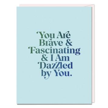 Em + Friends - EMM Brave & Fascinating Card