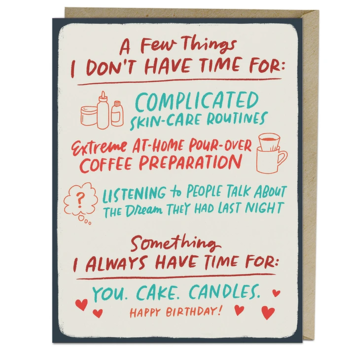 Emily McDowell - EMM You Cake Candles Birthday Card