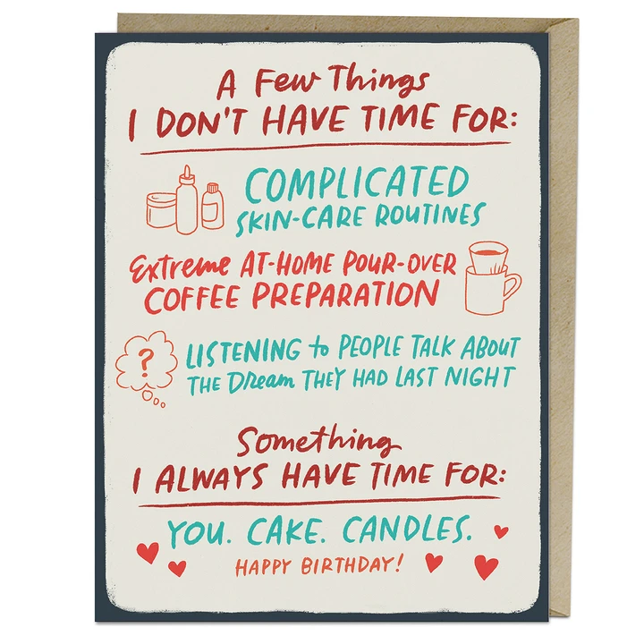 Em + Friends - EMM You Cake Candles Birthday Card