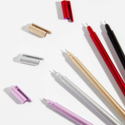 poketo Silver Metallic Apex Pen