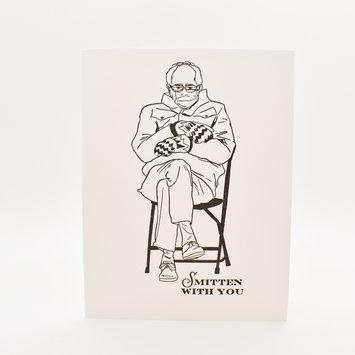 Riva Letterpress - RIL Smitten With You Bernie Sanders Card