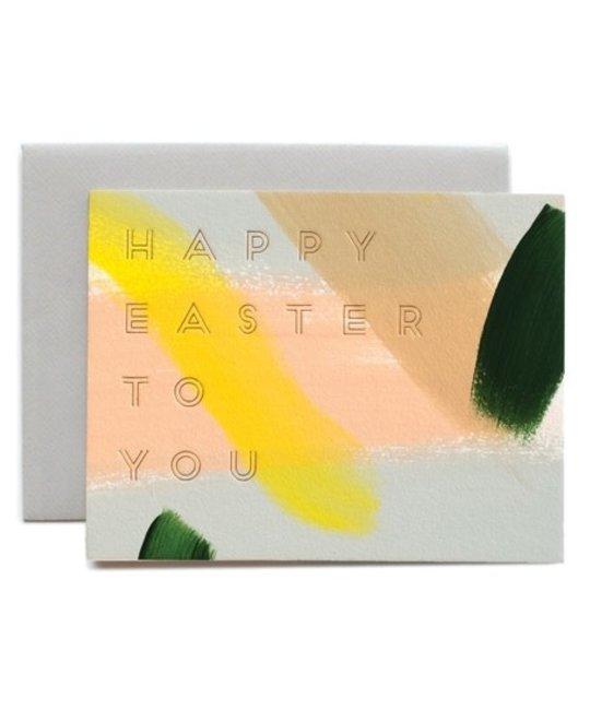 Moglea - MOG Hand Painted Happy Easter Card