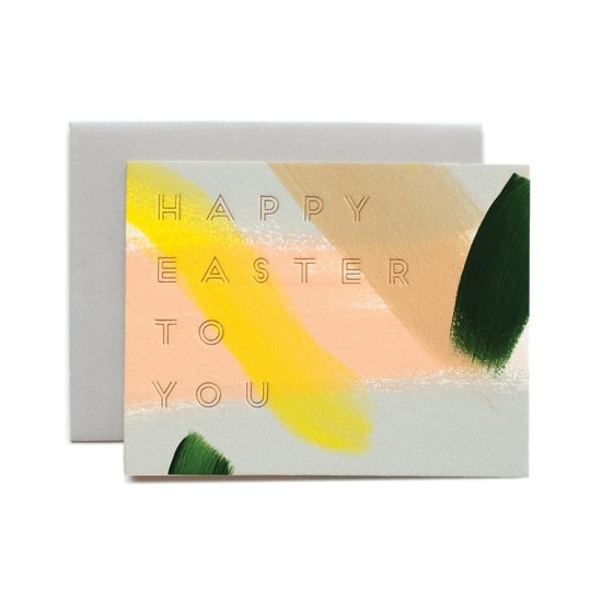 Moglea - MOG Hand Painted Happy Easter Card