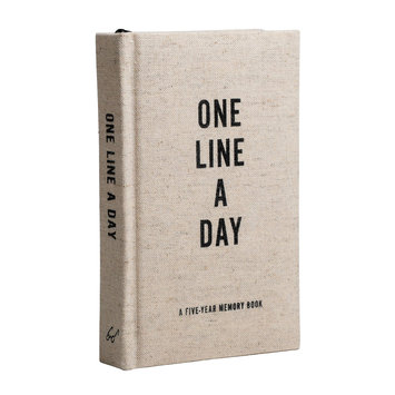 Chronicle Books - CB Canvas One Line a Day