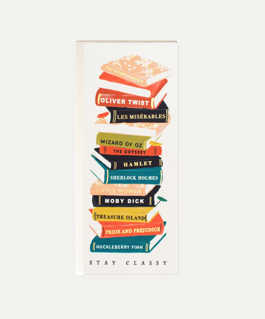The First Snow - FIS Stay Classy Books Card