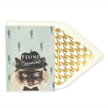 The First Snow - FIS Feline Casanova Card