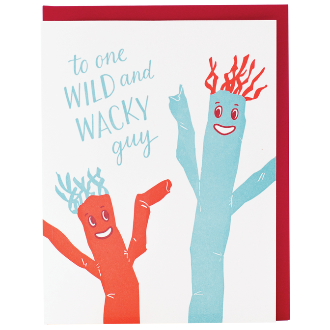 Smudge Ink - SI Wacky Guy Dad  Father's Day Card