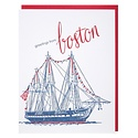 Smudge Ink - SI USS Constitution Greetings from Boston Card