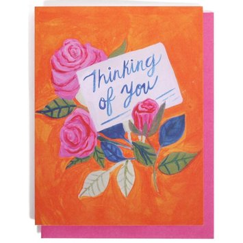 Thimblepress Thinking of You Card
