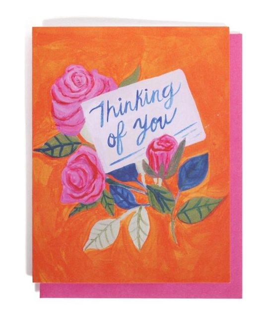 Thimblepress - TBP Thinking of You Card