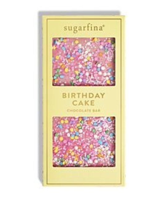 Sugarfina - SU Sugarfina - Happy Birthday Pink Chocolate Bar