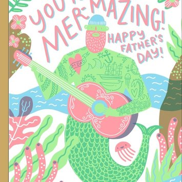 Hello!Lucky - HL Mer-mazing Father's Day Card