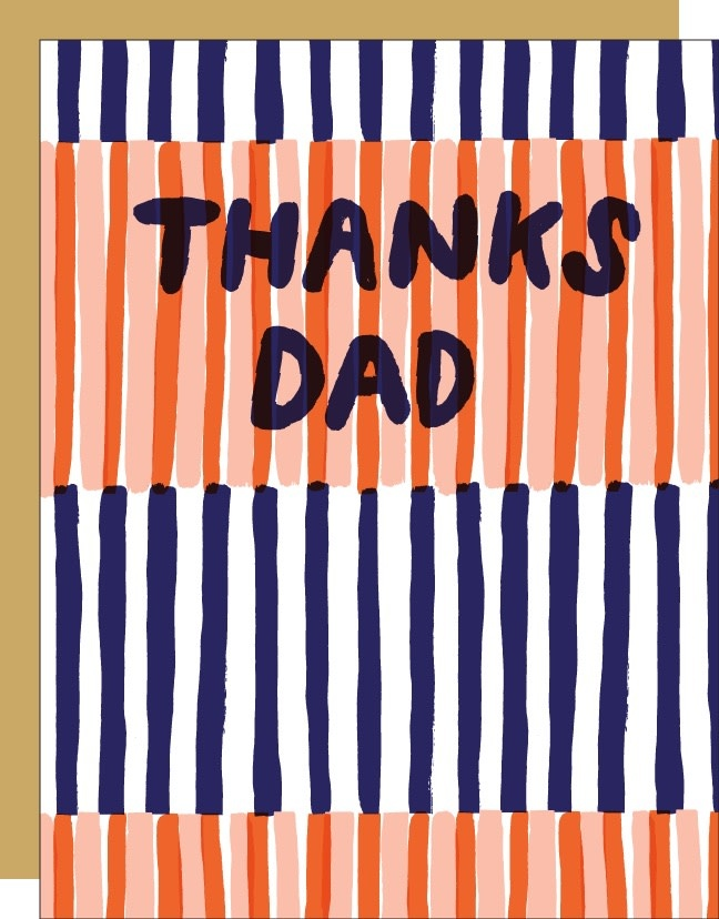 Egg Press - EP Thanks Dad Card