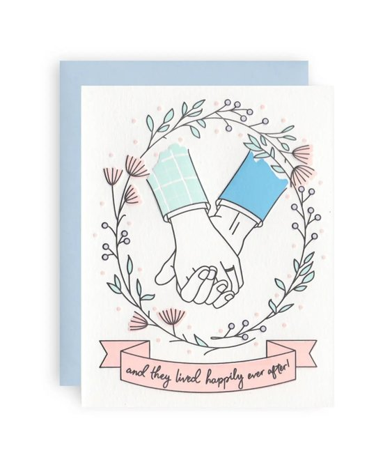 KB Paperie - KBP Happily Ever After Card (guys)