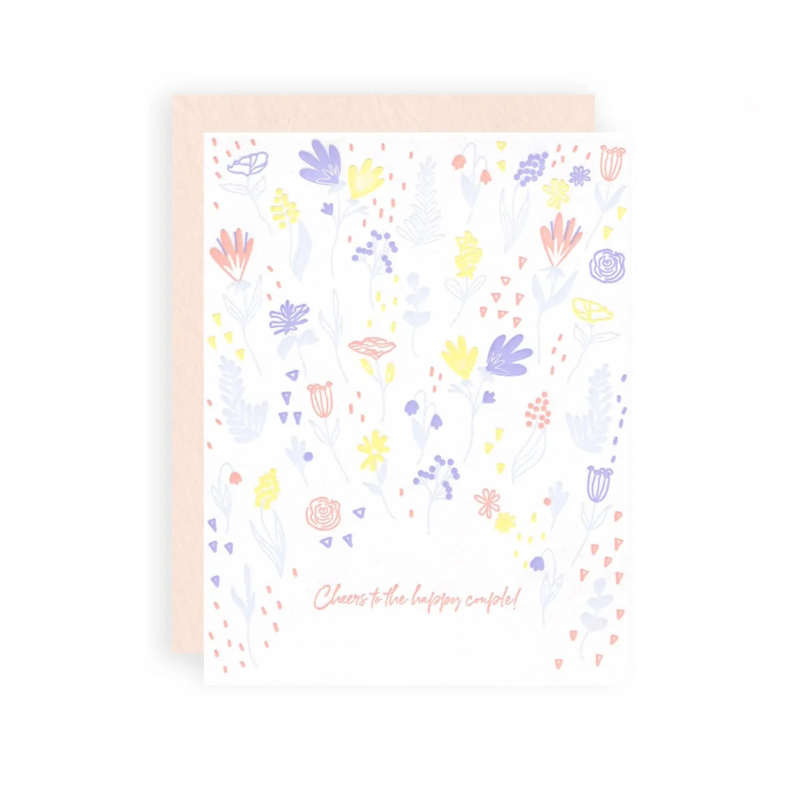 KB Paperie - KBP Cheers to the Happy Couple Card