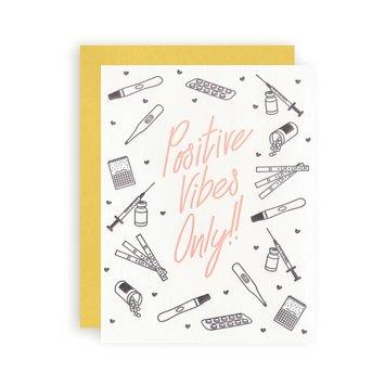 KB Paperie - KBP KBPGCBA0001 - Positive Vibes Only Infertility Card