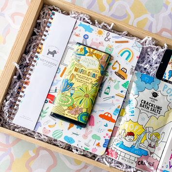 Gus and Ruby Letterpress - GR Gus & Ruby - Easter Basket Gift Box for Kids V1