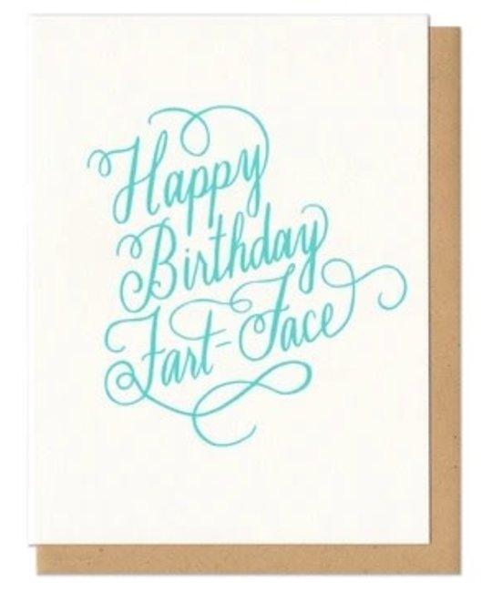 Frog & Toad Press - FT FTGCBI0001 - Happy Birthday Fart Face