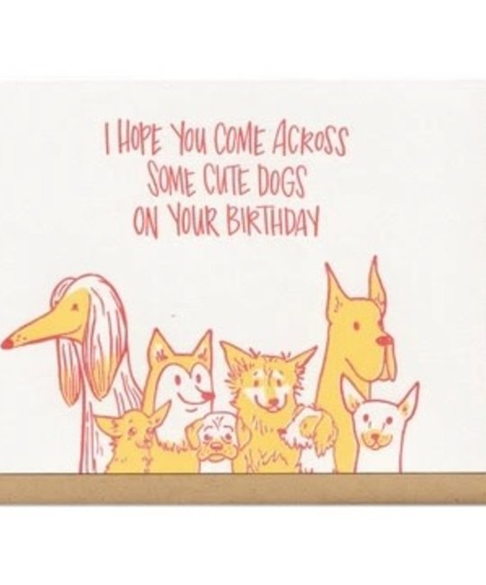 Frog & Toad Press - FT FTGCBI0002 - Cute Dogs Birthday