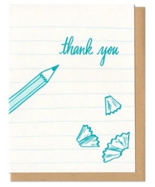 Frog & Toad Press - FT FTGCTY0002 - Thank You Pencil