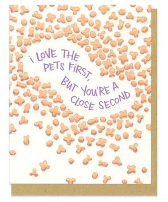 Frog & Toad Press - FT FTGCLO0005 - Love the Pets First Kibbles