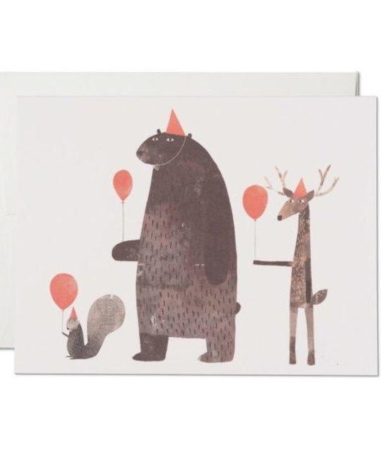 Red Cap Cards - RCC RCCGCBI0004 - Party Animals