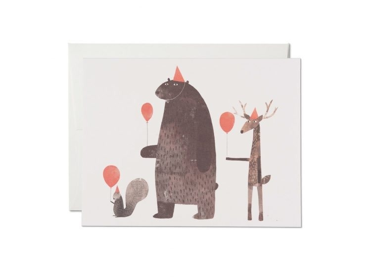 Red Cap Cards - RCC RCCGCBI0004 - Party Animals