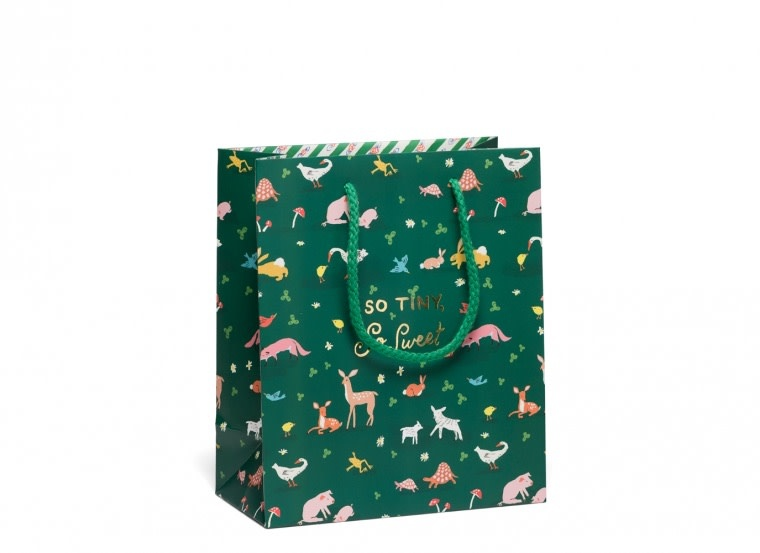 Red Cap Cards - RCC RCC GBME - Tiny Animals Medium Gift Bag