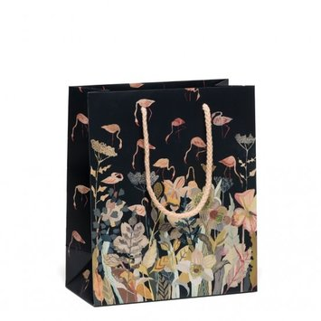 Red Cap Cards - RCC RCC GBME - Floral Flamingo Medium Gift Bag
