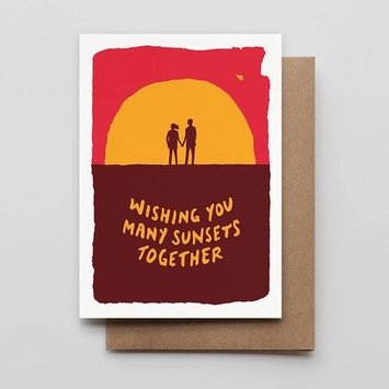 Hammerpress - HA Sunset Couple Card