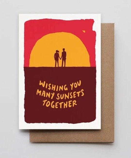 Hammerpress - HA Sunset Couple Card