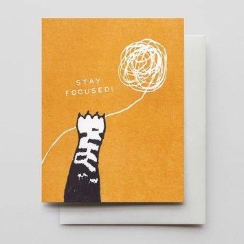 Hammerpress - HA HAGCMI0016 -Stay Focused Kitty