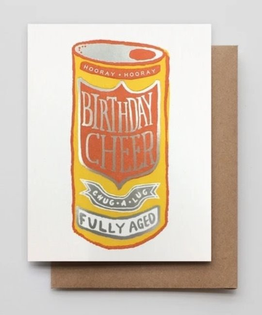 Hammerpress - HA HAGCBI0052 - Birthday Cheer Beer