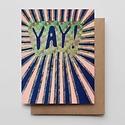 Hammerpress - HA Holographic Yay Card