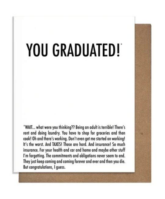 The Matt Butler - TMB TMBGCGR0001 - You Graduated Why