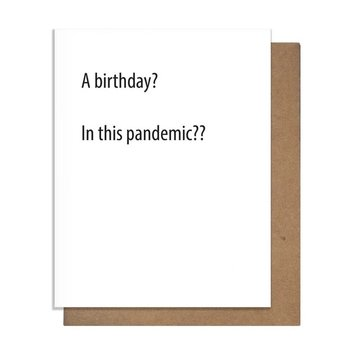 The Matt Butler - TMB TMBGCBI0019 - Pandemic Birthday