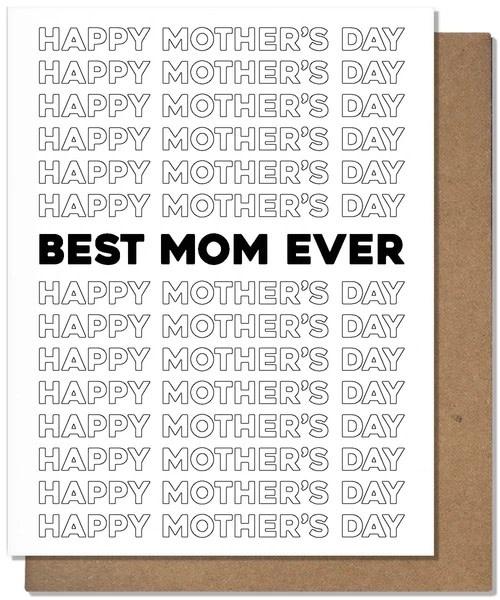 The Matt Butler - TMB Best Mom Ever Mother's Day Card
