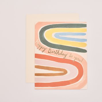 Red Cap Cards - RCC Perfect Rainbow Birthday Card