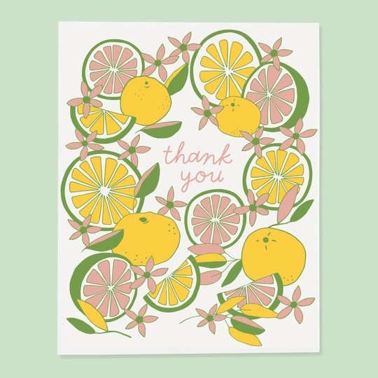 The Good Twin - TGT Citrus Thank You Card