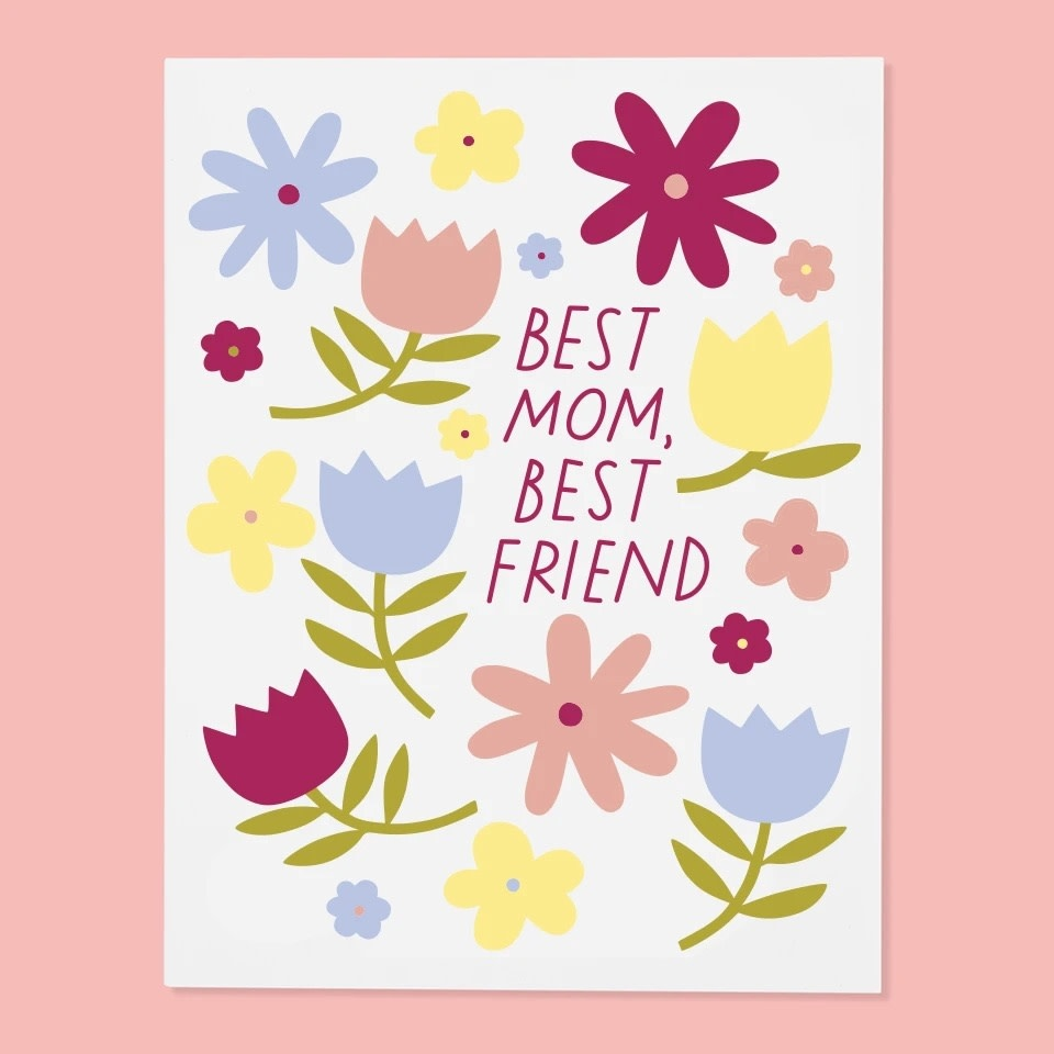 The Good Twin - TGT Best Mom, Best Friend Mother's Day Card
