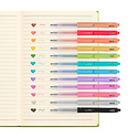 OOLY - OO Ooly - Oh My Glitter! Retractable Glitter Gel Pens, Set of 12