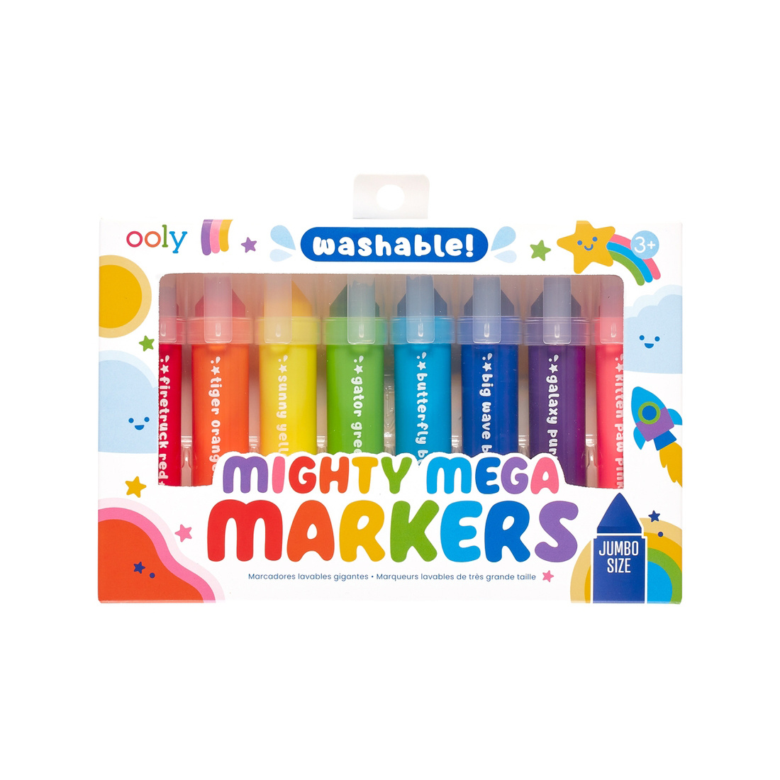 OOLY - OO Ooly - Mighty Mega Markers, Set of 8
