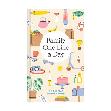 Chronicle Books - CB Family One Line a Day: Three-Year Memory Journal