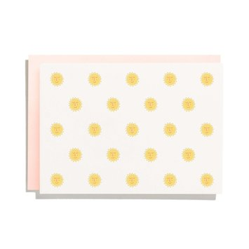 Iron Curtain Press - IC Sunshine Pattern Note Card Set