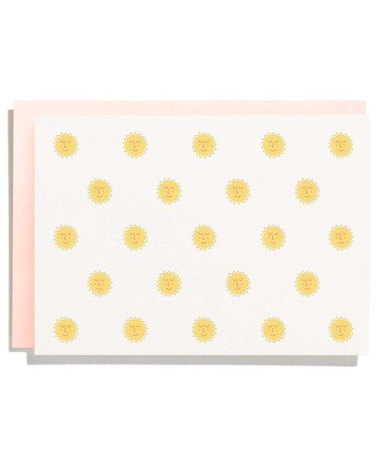 Iron Curtain Press - IC Sunshine Pattern Note Card Set